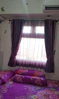 Apartemen Green Pramuka City, 2BR, Furnished, Langsung Huni.