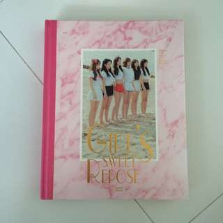 apink girls sweet repose photobook