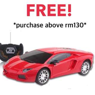 Free remote control car