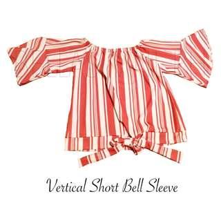 Vertical Short Bell Sleeve