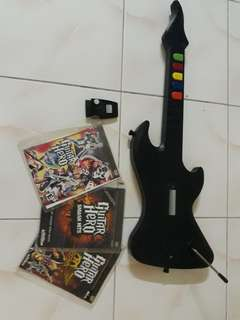 Ps2 wireless guitar