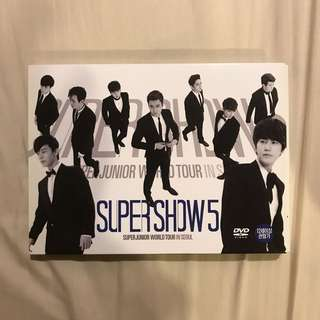 Super junior super show 5 dvd