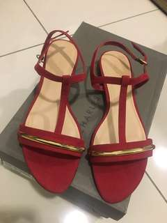 Charles & Keith red sandals