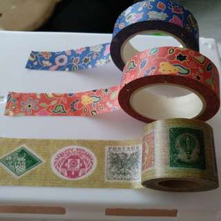 Washi Tapes Pattern Stickers
