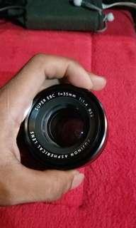 Lensa Fujifilm Fujinon 35mm F1.4 R