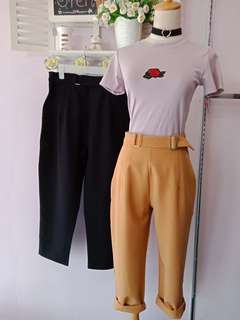Korea Loose Pants (Black)
