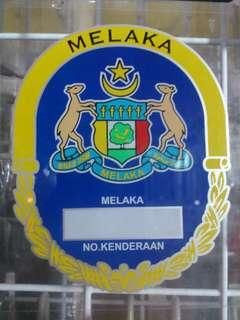 Melaka Window Car Stickers