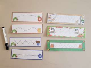 Trace Lines Task Cards
