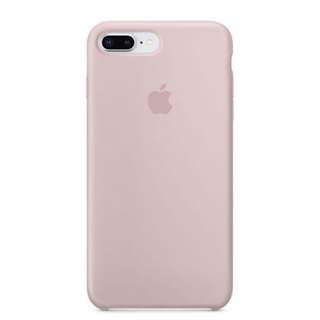 iPhone 8 Plus Apple Pink Sand Silicone Case