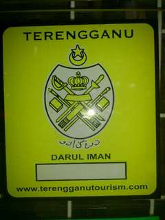 Terengganu Window Car Sticker