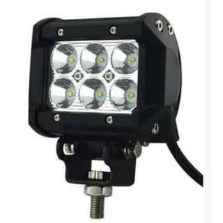 18w 4inch LED Waterproof Light For Car Motorcycle(#D-18W)