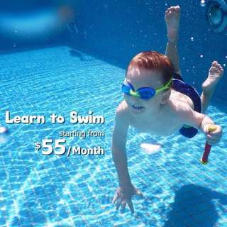 Learn to 🏊🏼💦👦🏻👩🏼💼FREE Goggle*