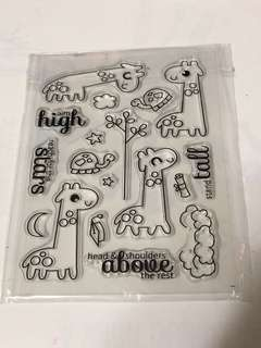 Giraffe Clear Stamps