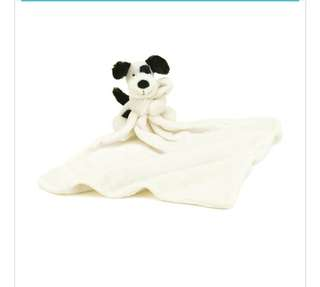 Jellycat bashful puppy soother BNWT