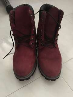Authentic Timberland Highcut Boots Size 8W