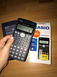Certified Casio Scientific Calculator