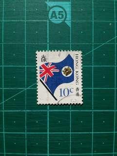 [均一價$10]1987 龍獅旗機售票 壹角舊票