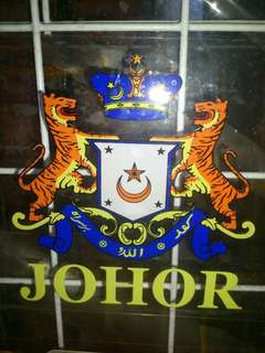 Johor Window Car Sticker