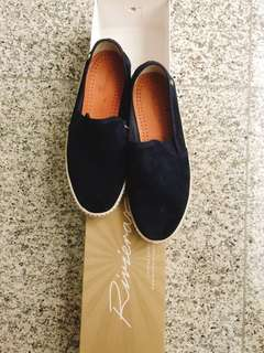 Rivieras Sultan 10° Marine Suede Shoes
