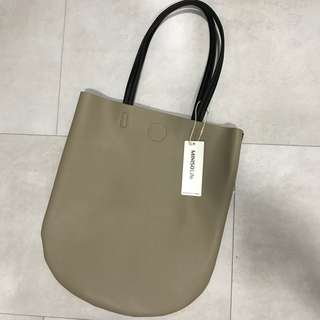 MINISO Curved Bottom Tote