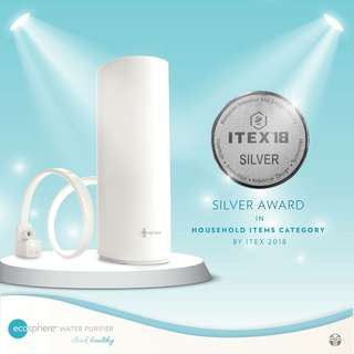 Award winning water purifier
