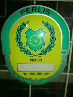 Perlis Window Car Sticker