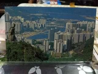 八十年代 望夫山明信片