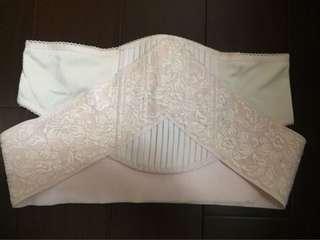 [二手]六甲村孕婦專用托腹帶 交叉型 絲質透氣舒適