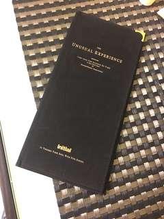 Initial passport case