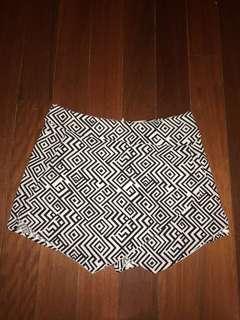 Skirt, shorts, skort high waist