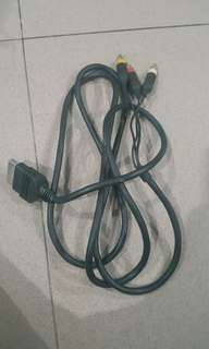 Xbox ntsc cable