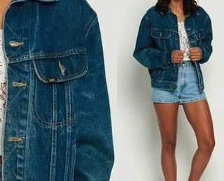 Oversized Denim