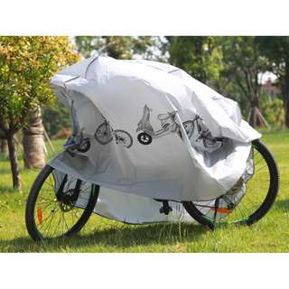 Bicycle Cover to protect your bike from raining, and dust.