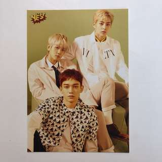 Exo Yes! Card 第35期 精品 5R相