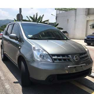 瑋哥車坊 正2011年 Nissan Livina 灰色漆面好顧不易髒 只要 17.8萬!實車實價 一手車 非自售
