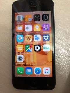 Iphone 5 dark color