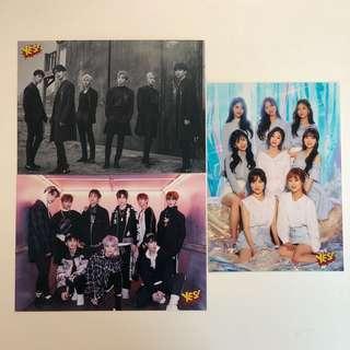 Yes! Card 第35期 精品 5R相 VIXX NCT127 Lovelyz