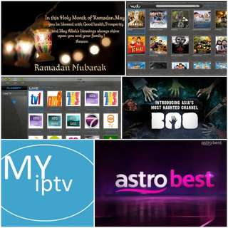 Renewal/Subscription Myiptv Astro