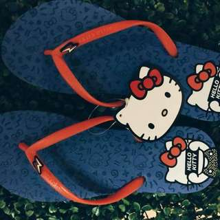 Blue/Red Hello Kitty