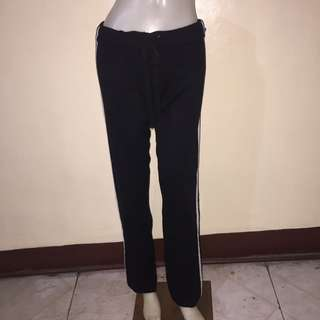 SWEET by miss me black tied jogging pants small