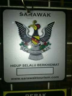 Sarawak Window Car Sticker