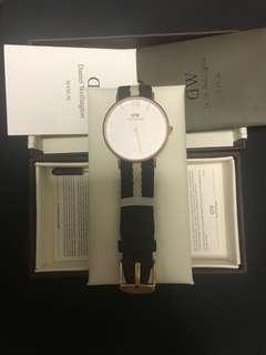 DW手錶 特別版 罕見 有盒齊配件 可平