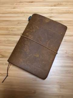 Traveller's notebook - passport size