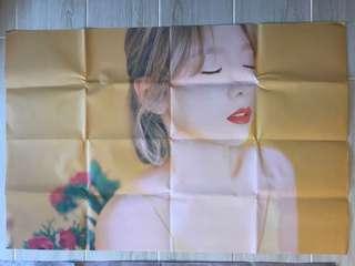 Taeyeon正規一輯Poster Version A&B