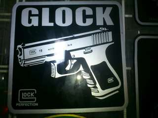 Glock Window Car Stickers