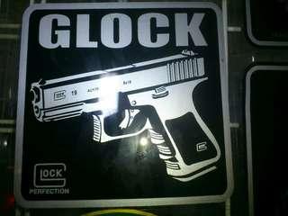 Glock Window Car Stickers