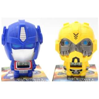 Transformers Key Chain Clock