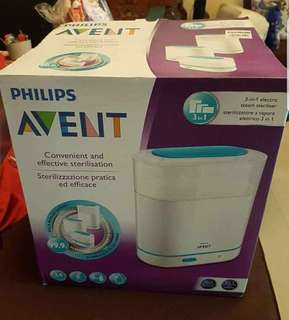 Avent Sterilizer (opened and used once)