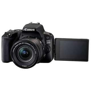 Canon EOS 200D Kit (EF-S 18-55mm). 3 Years Warranty from Canon Malaysia. READY STOCK
