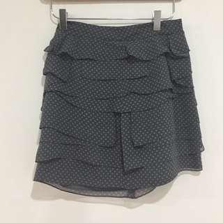 Club monaco 100% silk skirt